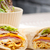 club sandwich pita bread roll stock photo © keko64