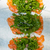 friss · lazac · szusi · sashimi · rakéta · saláta - stock fotó © keko64