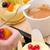 торт · Вишневое · ложку · кремом · пластина · Кубок - Сток-фото © keko64
