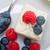 fraîches · framboise · myrtille · gâteau · maison · crème - photo stock © keko64