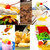 dessert cake and sweets collection collage stock photo © keko64