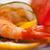 színes · garnéla · előétel · falatozó · friss · zöldségek - stock fotó © keko64