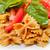 italian pasta farfalle butterfly bow tie and tomato sauce stock photo © keko64