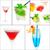 cocktails collage stock photo © keko64
