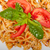 italian pasta farfalle butterfly bow tie and tomato sauce stock photo © keko64