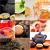 mint · thee · collage · vers · gesneden · kruidentuin - stockfoto © keko64