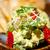 avocado and shrimps salad stock photo © keko64