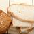 dilimleri · ayçiçeği · ekmek · iki · taze · beyaz - stok fotoğraf © keko64