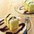 room · vanille · vla · icing · tabel · dessert - stockfoto © keko64
