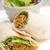 falafel pita bread roll wrap sandwich stock photo © keko64
