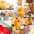 frescos · frambuesa · torta · postre · forma · menta - foto stock © keko64