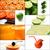 frutta · fresca · succo · collage · alimentare · mele - foto d'archivio © keko64