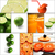 citrus fruits collage stock photo © keko64