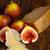 frescos · rústico · cuchillo · rojo · postre · dulce - foto stock © keko64