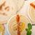 ディップ · ピタ麻 · パン · 栄養価が高い · ブレンド · 油 - ストックフォト © keko64