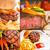 barbecue · BBQ · kollázs · étterem · étel · friss - stock fotó © keko64