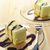fresh cream cake closeup with chocolate sauce stock photo © keko64