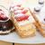 新鮮な · クリーム · ケーキ · デザート · プレート · チョコレートムース - ストックフォト © keko64
