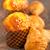 frescos · muffin · croissant · madera · vieja · mesa - foto stock © keko64