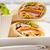 vers · smakelijk · clubsandwich · salade · toast · geïsoleerd - stockfoto © keko64