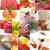 magas · fehérje · étel · gyűjtemény · kollázs · fehér - stock fotó © keko64