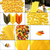 tipo · italiano · macarrão · colagem · praça - foto stock © keko64
