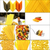 various type of italian pasta collage stock photo © keko64