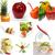 organisch · vegetarisch · veganistisch · voedsel · collage · heldere - stockfoto © keko64