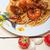 спагетти · петрушка · белый · пасты · обед - Сток-фото © keko64