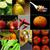 地中海料理 · コラージュ · ブルスケッタ · ラザニア · パスタ · トマト - ストックフォト © keko64