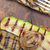 alla · griglia · verdura · pane · rustico · tavolo · in · legno · alimentare - foto d'archivio © keko64