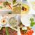 arab middle eastern food collage stock photo © keko64