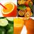 fruits · collage · fraîches · carré · cadre - photo stock © keko64