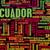 エクアドル · 市 · 空 · ドア · 教会 · 青 - ストックフォト © kentoh