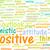 zdaniem · pobyt · pozytywny · szczęśliwy - zdjęcia stock © kentoh
