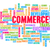 commerce · woordwolk · witte · oranje · groene · Blauw - stockfoto © kentoh