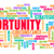 opportunity word cloud concept stock photo © kentoh