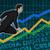 mercado · de · ações · positivo · previsão · financeiro · individual · símbolo - foto stock © kentoh