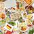 果物 · コラージュ · フルーツ · デザート · 健康的な食事 - ストックフォト © kentoh