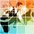zespołu · dynamiczny · pracowników · biurowych · biuro · szczęśliwy - zdjęcia stock © kentoh