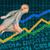 azul · tecnologia · previsão · de · vendas · dados · abstrato - foto stock © kentoh