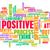 gondolkodik · pozitív · hozzáállás · absztrakt · jókedv · gondolkodik - stock fotó © kentoh