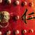 vriendelijkheid · portret · schoolmeisje · rode · appel · medeleerling · voedsel - stockfoto © kentoh