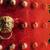 új · év · üdvözlőlap · kínai · új · év · művészet · piros · kínai - stock fotó © kentoh