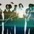 agile · business · squadra · di · affari · società · personale · abstract - foto d'archivio © kentoh