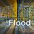 flood background concept glowing stock photo © kgtoh