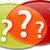 questions dialog conversation talking illustration clipart stock photo © kgtoh