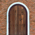 arch wooden door with brick building stock photo © kheat