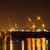 haven · nacht · groot · container · vracht · schip - stockfoto © kheat