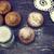 chocolade · vla · cake · tabel · voedsel - stockfoto © kidza